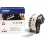 Brother DK-22211 (Noir/Blanc) - ORIGINALE
