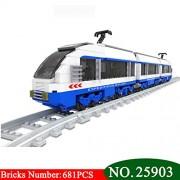 Generic 25903 Assemble Model Block Century Train Freight Shinkansen Children's Enlightenment Building Blocks Toys for Children