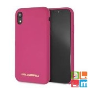 KARL LAGERFELD tok Pink (KLHCI61SLROG) Apple iPhone XR készülékhez