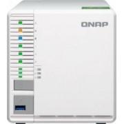 NAS QNAP Tower TS-332X-2G, 2GB RAM, 3-Bay, 3 x Gigabit, 3 x USB3.0, Alb