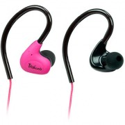 Amkette Pulse S6 Sports Wired Headset (Pink)