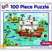 Puzzle Calatoria piratilor 100 piese Galt