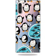 Mobigear TPU Cartoon Penguin Samsung Galaxy Note 10