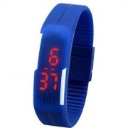 Danzen Digital Blue Dial LED Sports Unisex Watch-497