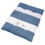 Bebes Collection Be 's Collection Crawling Oskar Blanket Be 's Crawling Blanket blauw 100 x 135 cm