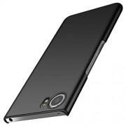 Anccer Funda Blackberry Keyone, Alta Calidad Ultra Slim Anti-Rasguño y Resistente Huellas Dactilares Totalmente Protectora Caso de Duro Cover Case para Blackberry Keyone (Negro Liso)