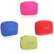 Multifunctional Outdoor Travel Camping Wash Bag Large Capacity Water Resistant Breathable Toiletry Cosmetic Storage