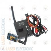 Kit Wireless Trasmettitori Lungo Raggio 5.8Ghz. 200mW 200mt