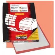 Etichetta adesiva C/543 bianca 100fg A4 52,5x37mm (32et/fg) Markin