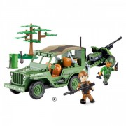 Jeep Willys MB cu tun 2.0 - Cobi