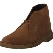 Clarks Desert Boot Cola Suede, Skor, Kängor och Boots, Chukka boots, Brun, Herr, 46