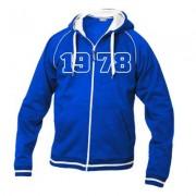 geschenkidee.ch Jahrgangs-Jacke für Frauen blau, Grösse M