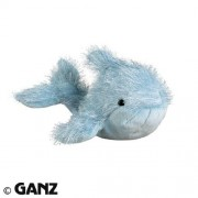 Webkinz Blue Whale with Trading Cards