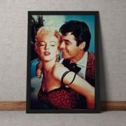 Quadro Decorativo Marilyn Monroe Vintage 35x25