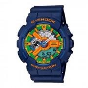 genuino casio g-shock GA-110FC-2ADR resistencia magnetica? reloj analogico-digital-azul