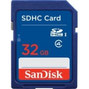 SanDisk 32 GB SDHC Class 4 Memory Card