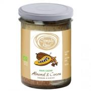 Crema Raw cu Migdale si Cacao Bio 170gr simply Raw