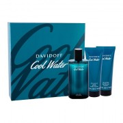 Davidoff Cool Water confezione regalo Eau de Toilette 125 ml + balsamo dopobarba 75 ml + spchový gel 75 ml uomo