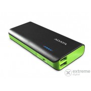 Power Bank ADATA 10000mAh APT100, negru-verde
