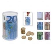 Geen 20 eurobiljet spaarpot 13 cm
