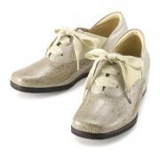 ミスキョウコ 4Eオックスフォードインヒールシューズ【QVC】40代・50代レディースファッション