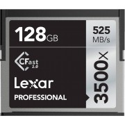 LEXAR Cartão CFast 2.0 Professional 128GB 3500x