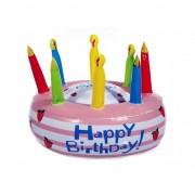 Geen Opblaasbare verjaardagstaart Happy Birthday