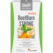 Sensilab BootBurn Strong Intensive Getränk zum Abnehmen, das Fett verbrennt Wirkt auch bei wenig Körperaktivität Pfirsichgeschmack 15-tägiges Programm