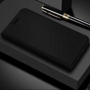 Dzgogo ISkin Serie Ligera Frosted PU + TPU Caso De Xiaomi Mi - Max 3 (negro)