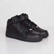 Nike Wmns Air Force 1 Mid ´07 Le Black/Black/Black