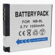 NB-8L Compatible 3.7V 1050mAh Bateria para Canon A3000 / A3100