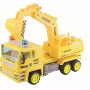 Camion cu excavator Baby Mix Super Power