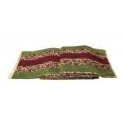 Prekrivač štepani poliester #1 zelena, bordo