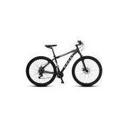 Bicicleta Colli Mtb High Performance Preto Aro 29 Alum. Kit Shimano 21M Susp. Dianteira Freios A Disco