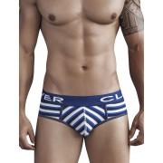 Clever Navajo Code Piping Brief Underwear Blue 5270