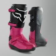 FOX Crosslaarzen Dames FOX Racing Comp Zwart-Roze - Zwart