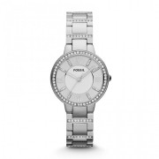 Ceas de dama original Fossil Virginia Three Hand ES3282