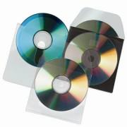CD tartó zseb, kiszedő réssel, öntapadó, 127x127 mm, 3L (3L10236)