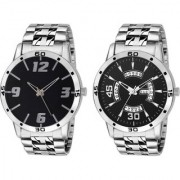 Combo Of 2 Analog Metal Strap Watch - For MenCOMSDD-310