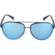 Daniel Klein Oval Sunglasses(Blue)