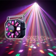 American DJ Stinger II Multi Efecto de luces Moonflower, Strobe, Laser