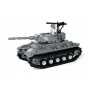 US Army Chaffee Tank World War 2 Complete Set made w real LEGO bricks - Battle Brick Custom Set
