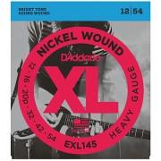 D'Addario EXL145 Nickel Wound .012-054 Cuerdas guitarra eléctr.