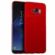 Naxtop PC Hard Funda protectora trasera para Samsung Galaxy S8 Plus - Rojo