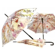 H.C.021-6701 Esernyő 100cm, Mucha:Tavasz/Ősz
