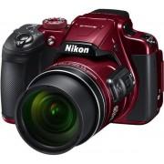 """Aparat Foto Digital NIKON COOLPIX B700, Filmare 4K, 20.3 MP, Zoom Optic 60x, 3"""" LCD, WiFi (Rosu)"""