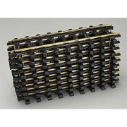 The Holiday Express 9-Piece Straight Train Track Expansion Pack