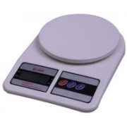 Jazam 10kg Electronic Digital Kitchen Weighing Scale SF407 Weighing Scale(White)