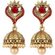 Jewels Gehna Alloy Sparkling Non-Precious Trendy Classic Jhumki / Jhumka Earring Set For Women Girls