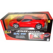 Voiture Ferrari Rouge Radio Commandée 1/16e - Collection New Bright